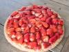 seizoensvlaaien-aardbeien biscuit